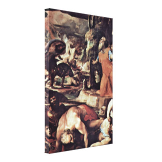 Domingo di Pace Beccafumi - el juicio pasado Lienzo Envuelto Para Galerias