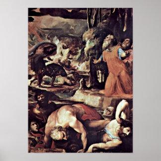 Domingo di Pace Beccafumi - el juicio pasado Poster