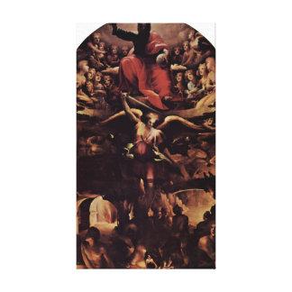 Domingo di Pace Beccafumi - infierno Lona Envuelta Para Galerías