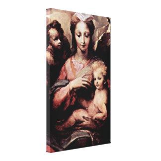 Domingo di Pace Beccafumi - Madonna Impresiones En Lona