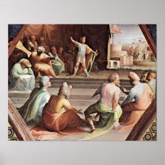 Domingo di Pace Beccafumi - Scipio Impresiones