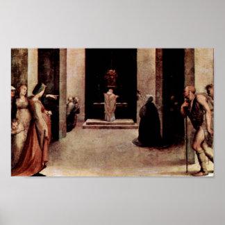 Domingo di Pace Beccafumi - St Catherine Impresiones