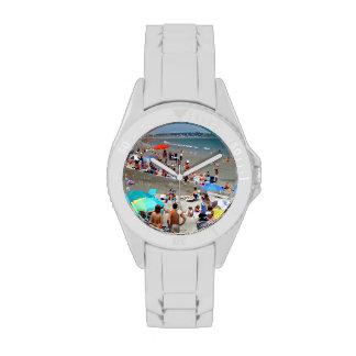 Domingo en la playa de Nantasket Reloj