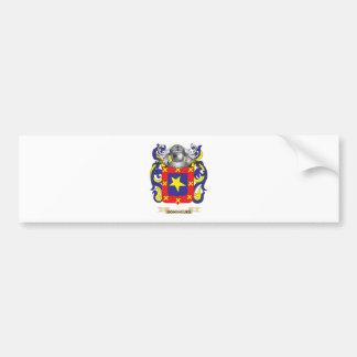 Domingues Coat of Arms Bumper Sticker