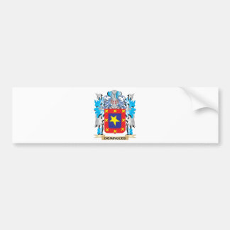Domingues Coat of Arms - Family Crest Bumper Sticker