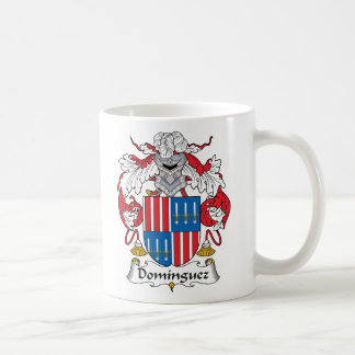 Dominguez Family Crest Coffee Mugs