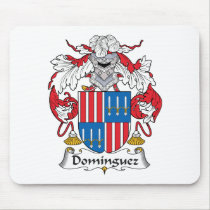 Dominguez Family Crest Mousepad