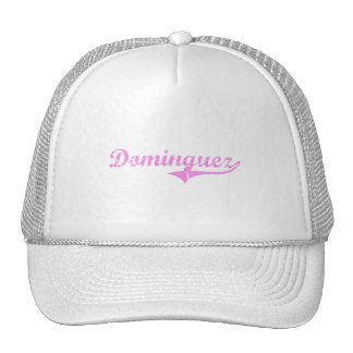 Dominguez Last Name Classic Style Trucker Hat