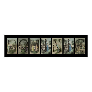 DOMINIC Alphabet Letter Name Art Poster