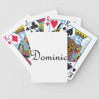Dominic Bicycle Playing Cards