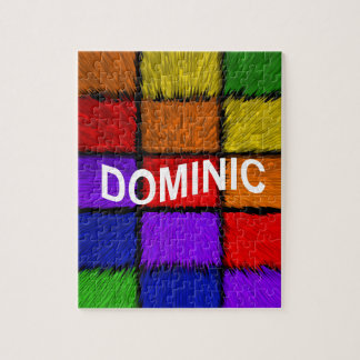 DOMINIC JIGSAW PUZZLE