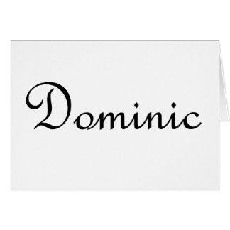Dominic Felicitación
