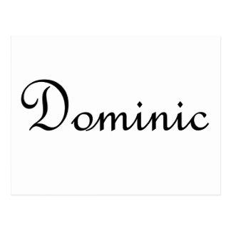 Dominic Tarjetas Postales