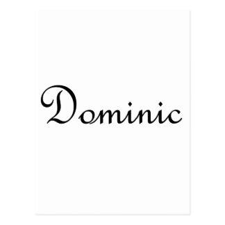 Dominic Tarjeta Postal