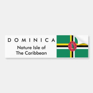 Dominica Bumper Sticker - Customized
