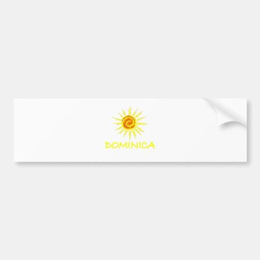 Dominica Bumper Stickers
