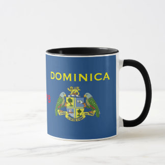 Dominica - Classic Flag & Crest Mug