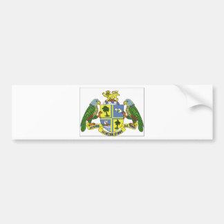 Dominica Coat of Arms Bumper Sticker