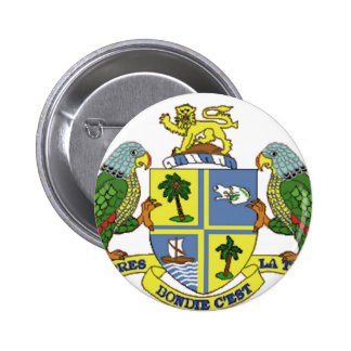 Dominica Coat of Arms Pinback Button