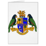 Dominica coat of arms cards