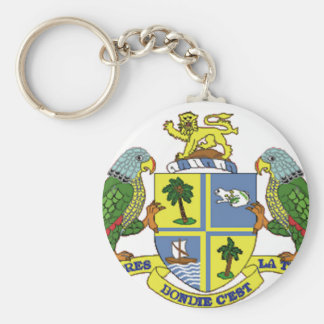 Dominica Coat of Arms Key Chain