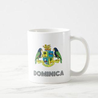 Dominica Coat of Arms Classic White Coffee Mug