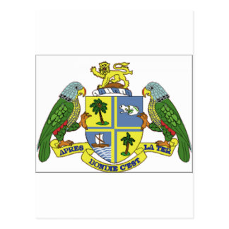 Dominica Coat of Arms Postcard