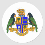 Dominica coat of arms stickers