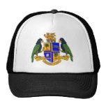 Dominica coat of arms trucker hat