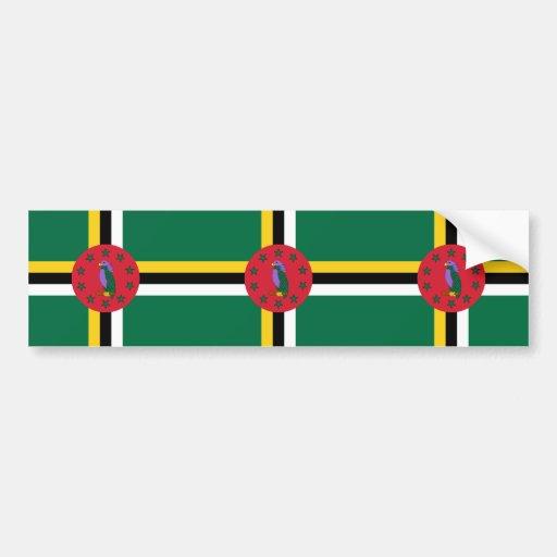 Dominica, Denmark Bumper Stickers