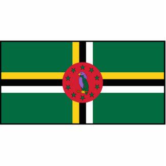 Dominica – Dominican Flag Cutout