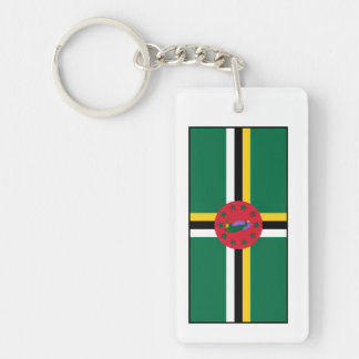 Dominica – Dominican Flag Keychain