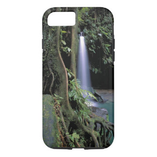 Dominica, Emerald Pool, Waterfall. iPhone 7 Case