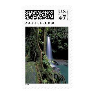 Dominica, Emerald Pool, Waterfall. Postage