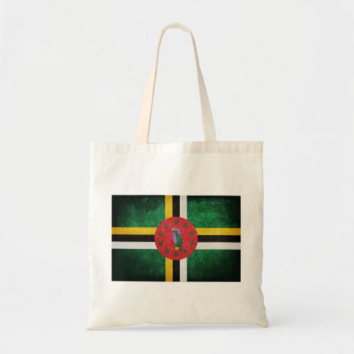 Dominica Flag Bag