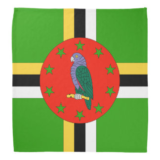 Dominica Flag Bandana