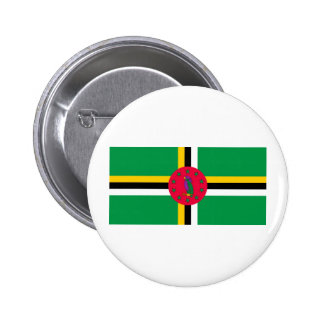 Dominica Flag Buttons