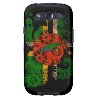 Dominica Flag Galaxy S3 Cases