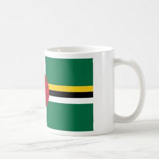 Dominica Flag DM Basic White Mug