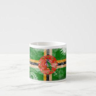 Dominica Flag Espresso Cup