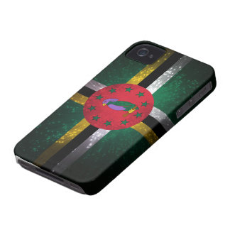 Dominica Flag Firework iPhone 4 Cover