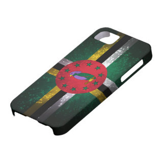 Dominica Flag Firework iPhone SE/5/5s Case
