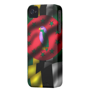 Dominica Flag Iphone 4/4S Case