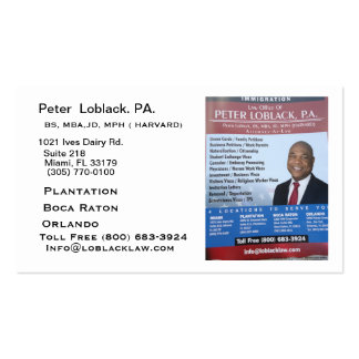 dominica flag.jpg Double-Sided standard business cards (Pack of 100)
