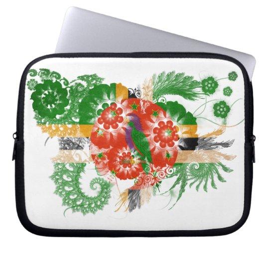 Dominica Flag Laptop Sleeve