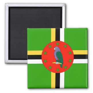Dominica Flag Magnets