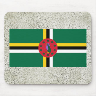 Dominica Flag Mouse Pad