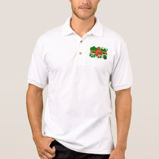 Dominica Flag Polo Shirt