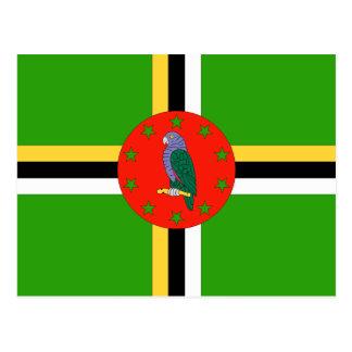 Dominica Flag Post Card