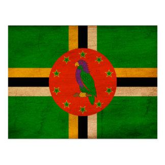 Dominica Flag Postcard